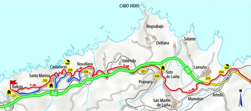 Cammino del Nord tappa dal Pito a Ballota