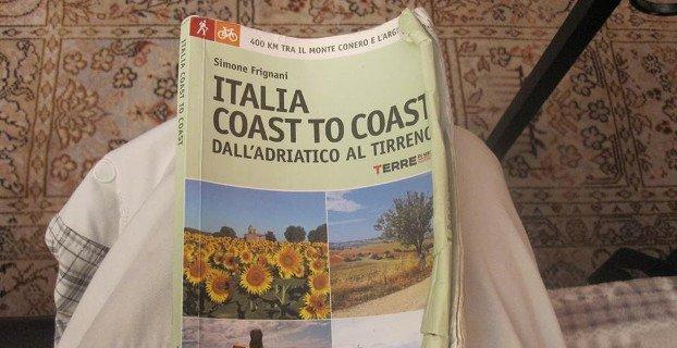 La prima camminatrice di Italia coast to coast