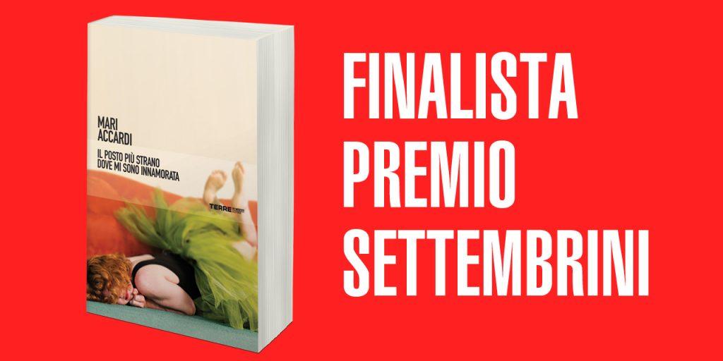 Mari Accardi finalista al premio Settembrini
