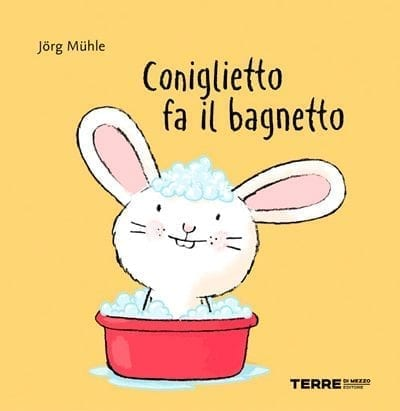 Coniglietto fa il bagnetto
