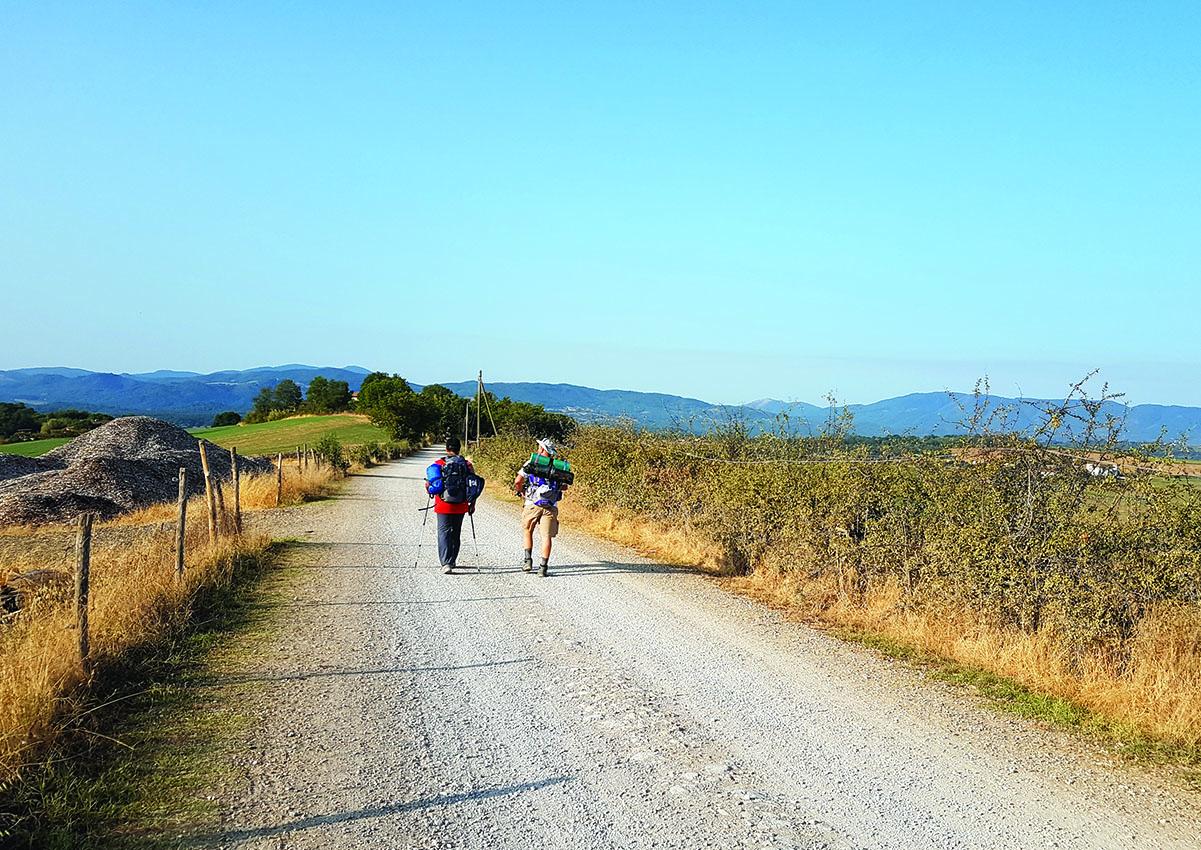 Ora i camminatori italiani preferiscono gli itinerari in Italia
