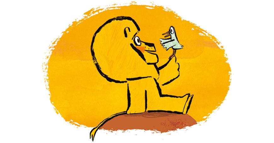 """Ed Vere racconta """"Questo (non) è un leone"""""""
