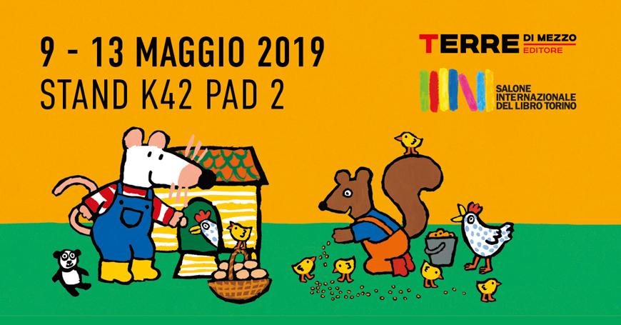 Terre di mezzo Editore al Salone del libro di Torino 2019