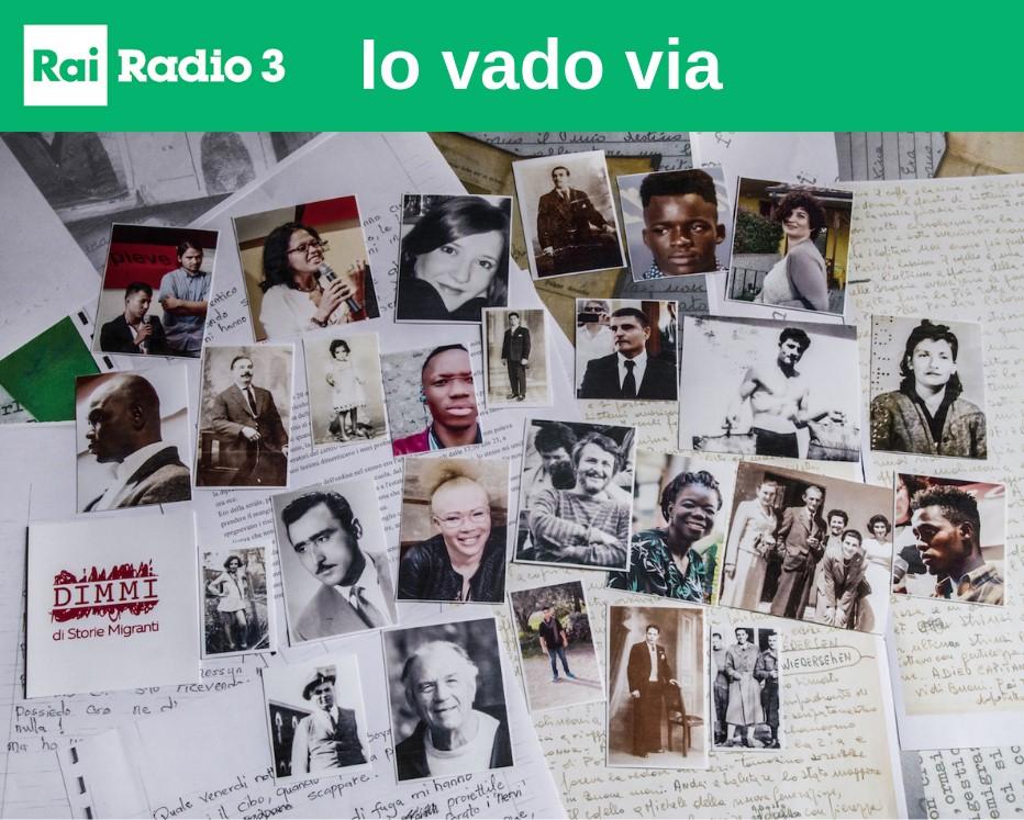 Io vado via: i diari di chi parte, su Radio 3