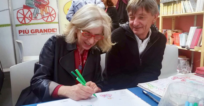 Una GRANDE coppia di autori: Alberto Benevelli e Loretta Serofilli