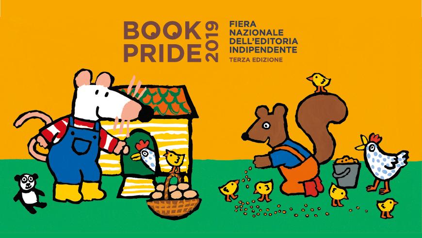 Bookpride Genova Pina fa la spesa