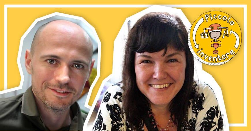 """Dominic Wilcox, Katherine Mengardon e i  """"Piccoli inventori""""!"""