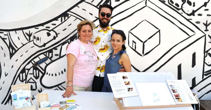 Nadia, Danilo e Paola: in arte, gli Animàni!