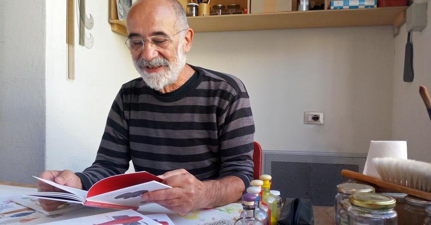 Guido Scarabottolo disegna Wisława Szymborska
