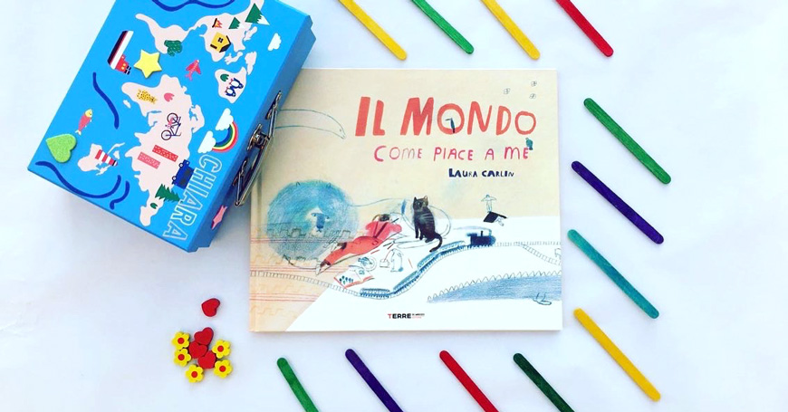 Il mondo come piace a me; Laura Carlin; Teacher in Wonderland