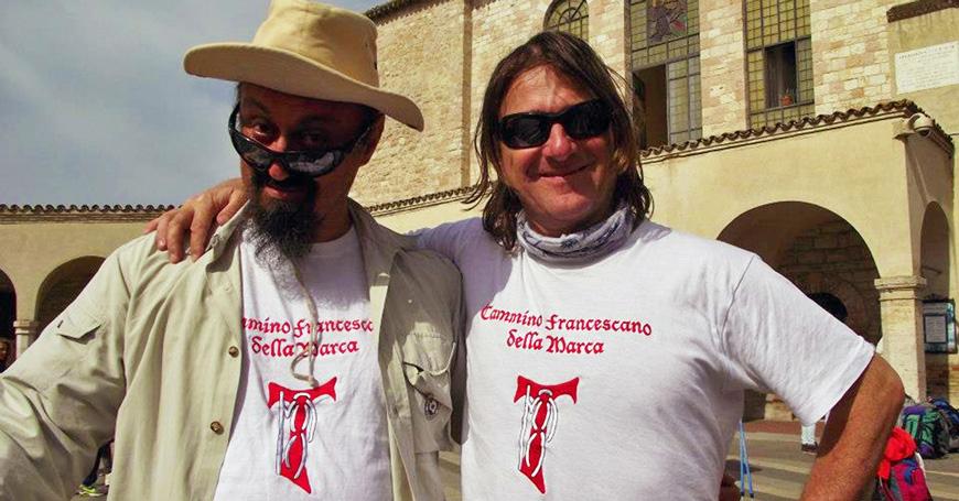 Il Cammino Francescano della Marca: intervista agli autori, Serafini e Monceri