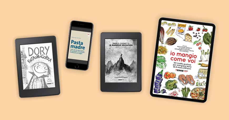 Gli Ebook di Terre, un rifornimento sicuro