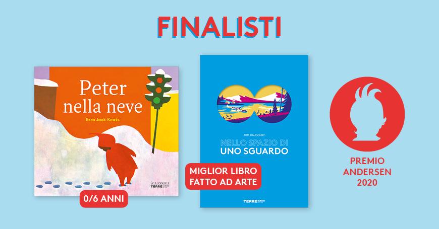 Due titoli di Terre di mezzo tra i finalisti del Premio Andersen 2020