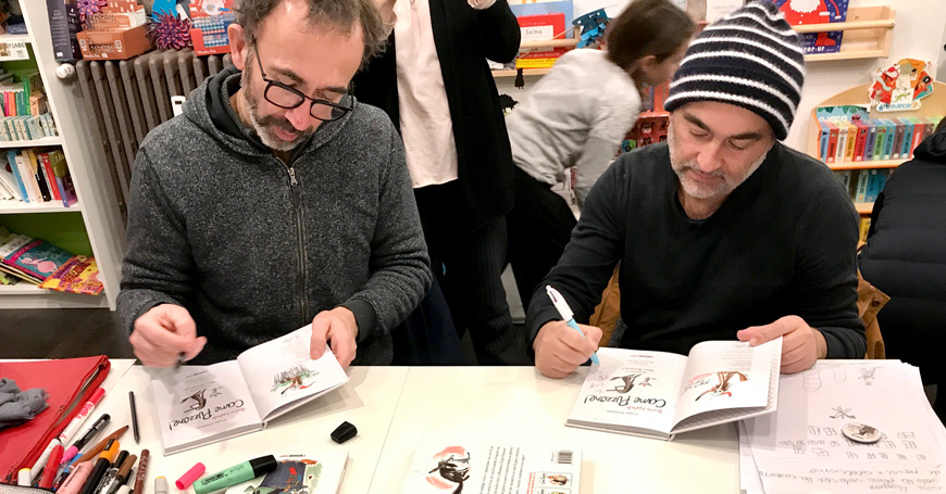 Intervista agli autori di Cane Puzzone! Colas Gutman e Marc Boutavant