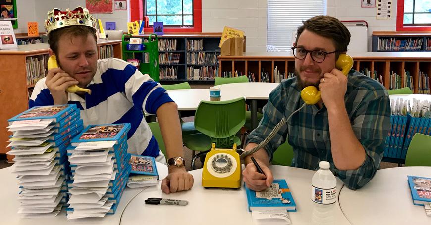 Parlano gli autori di Mac B! Mac Barnett e Mike Lowery