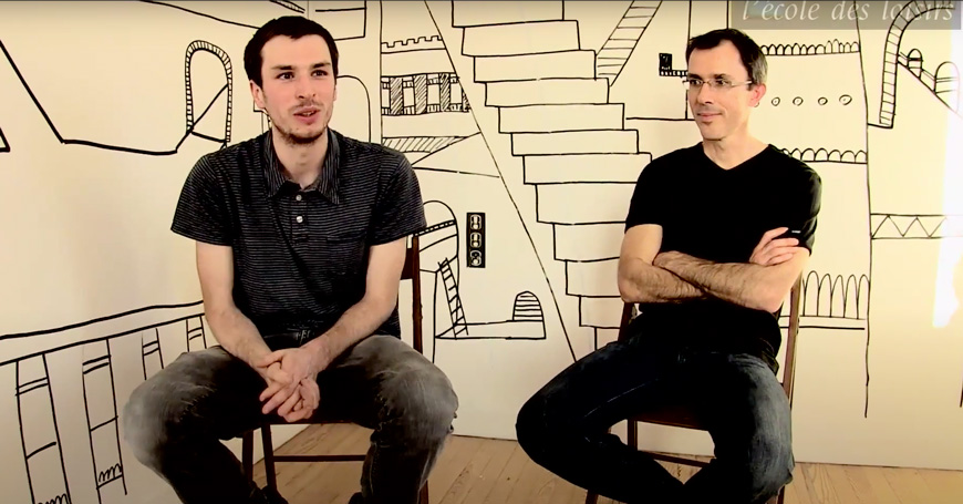 Intervista a Matthieu Sylvander e Perceval Barrier