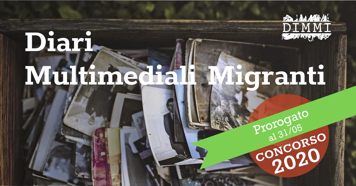 Concorso DIMMI Diari Migranti 2020, nuova scadenza invio lavori