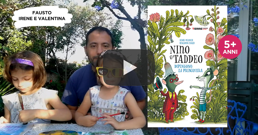 "Fausto presenta la serie ""Nino&Taddeo"""