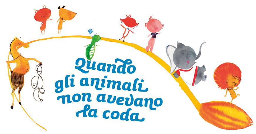 """Attività per i bambini ispirate all'albo """"Quando gli animali non avevano la coda"""""""