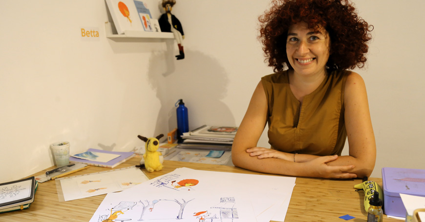 """Elisabetta Civardi tells about """"Quando gli animali non avevano la coda"""""""