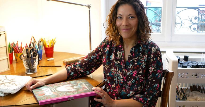 Valeria Docampo racconta Alice nel paese delle meraviglie