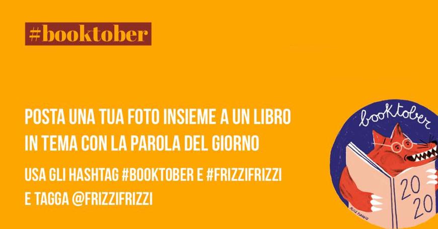 #Booktober! Ogni giorno un tema e un libro