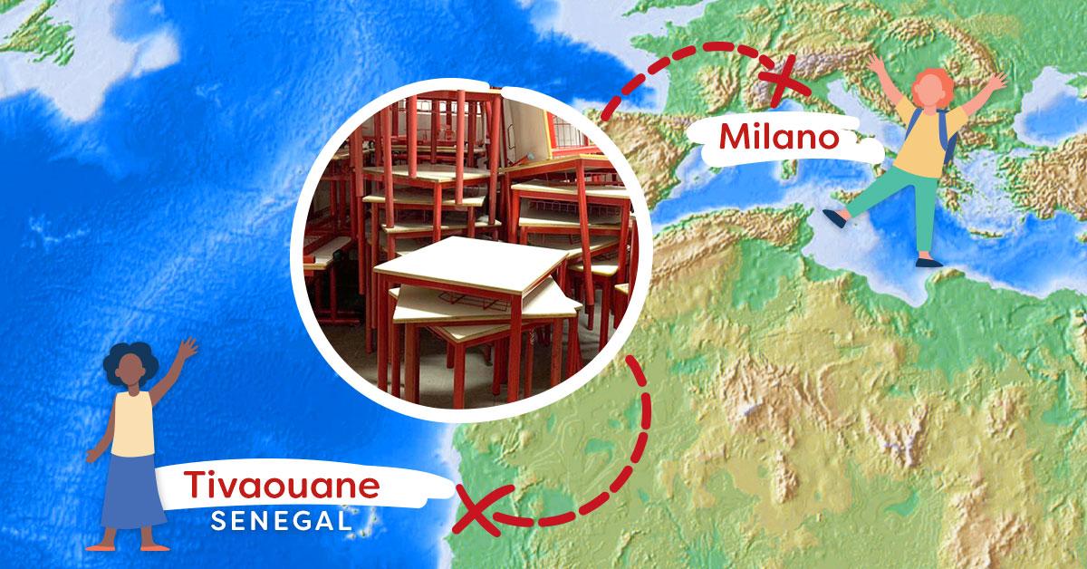 E i banchi di scuola dismessi a Milano?