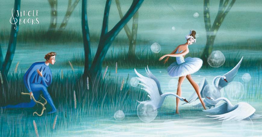 I balletti classici, illustrati da Valeria Docampo