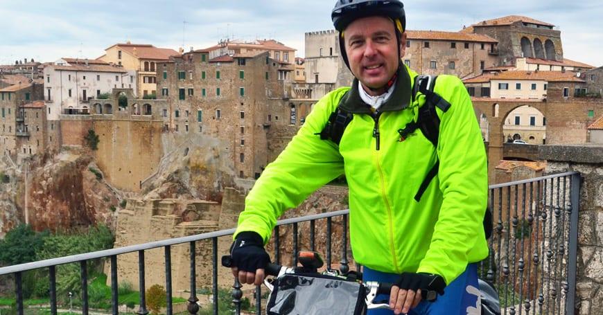 L'Italia Coast to Coast in bicicletta. Tappa Orvieto-Orbetello in tre giorni