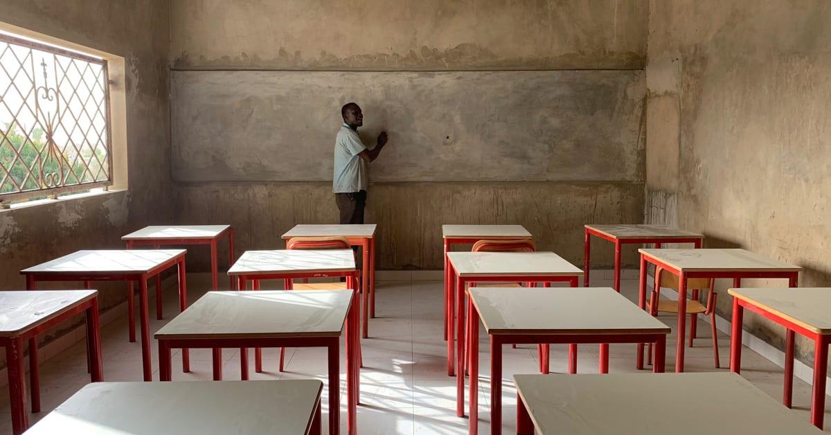 A che punto siamo con la costruzione di una scuola in Senegal!