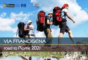via francigena road to rome